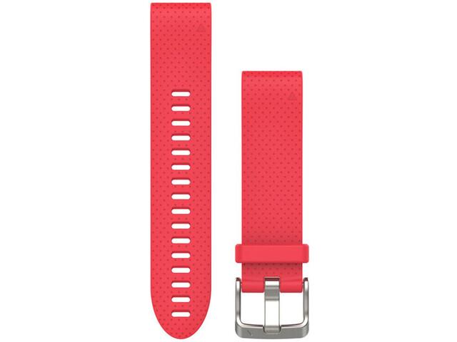 Garmin fenix 5S Silikon Armband QuickFit 20mm pink